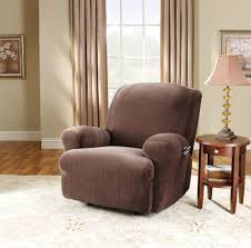 Sure Fit Stretch Pinstripe Recliner Slip