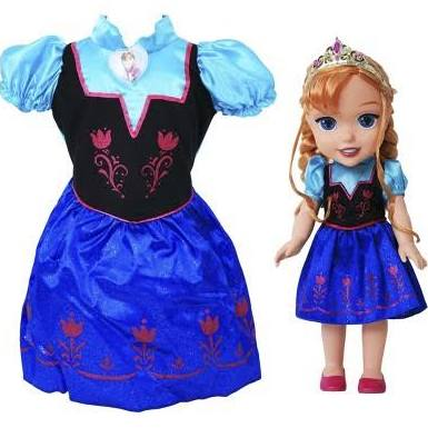 Disney Frozen Anna Toddler Doll Dress