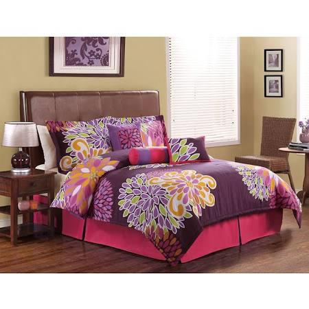 Flower Show Teen Girl Purple Floral Full