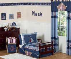 Nautical Nights 5 Piece Toddler Bedding
