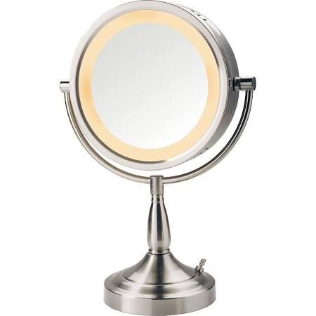 Jerdon 8 1/2-in. Lighted Vanity Mirror