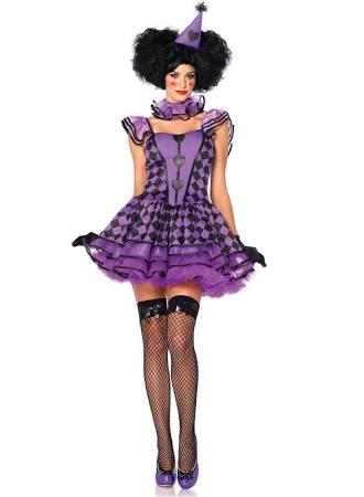 Pretty Parisian Clown Costume