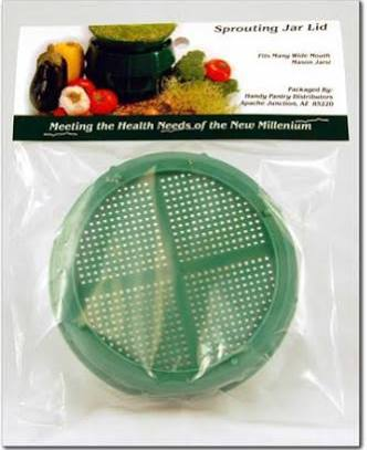 Handy Pantry SL-5 Sprouting Jar Strainer