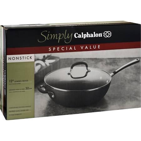 Calphalon Simply Jumbo Fryer 12 Inch