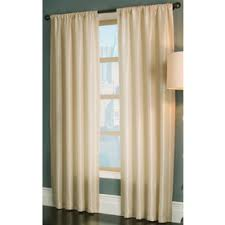 allen + roth 95-in L Cream Florence Curtain Panel X10307495ZBG