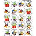 Teacher Created Materials Book Bug Stickers, Multi Color TCR4650