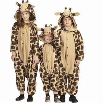 Kids Giraffe Funsies - Large