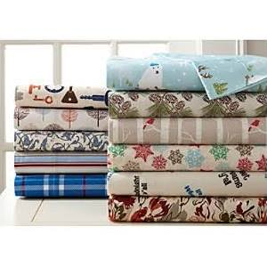 Shavel Micro Flannel Pinecone Sheet Set