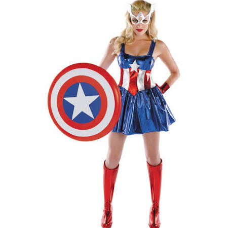 Captain America Dream Deluxe Adult Halloween