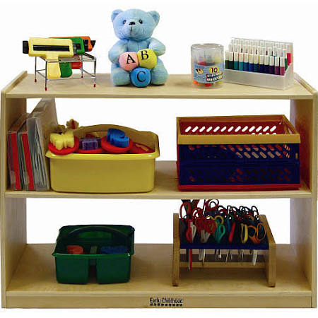 ECR4Kids ELR-0451 2 Shelf Storage Cabinet