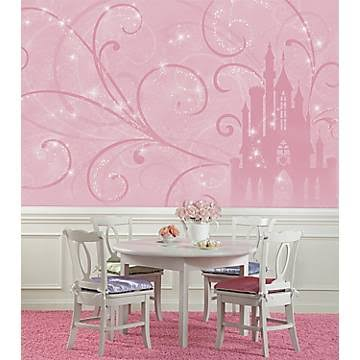 RoomMates JL1316M Disney Princess Scroll