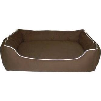 Dog Gone Smart Brown Lounger Dog Bed Small