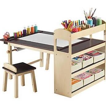 Guidecraft G51082 - Deluxe Art Center