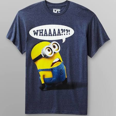 despicable me young men's t shirt minion