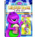 <b>Barney</b>: Movie Pack, 3-Discs [DVD]