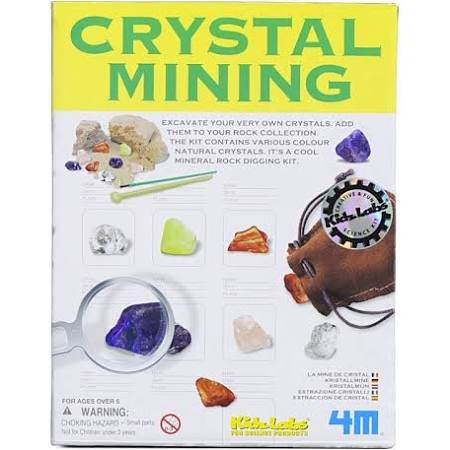 Toysmith Science Kit Crystal Mining