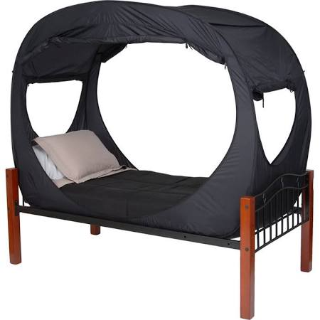 Privacy Pop Bed Tent for Twin XL Bed