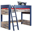 Capt'n Sharky Loft Bed Twin Loft Beds Baby Cribs