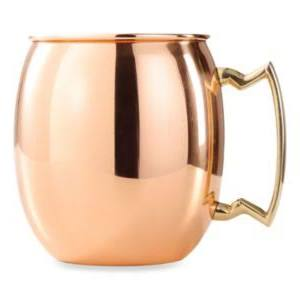 HomeWetBar Copper Moscow Mule Mug 16oz