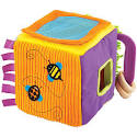Parents and Manhattan Toy Sort-a-Shape Fun Activity Cube