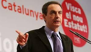 Zapatero apoyó el nuevo Estatuto de Cataluña