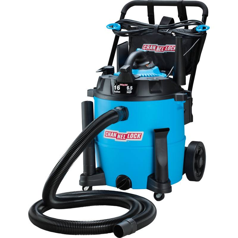 Channellock Wet and Dry Vacuum - with Blower, 16gal