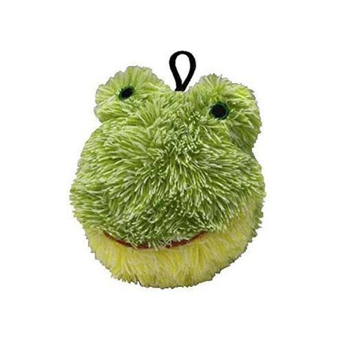 Petlou EZ Squeaky Ball Dog Toy - Frog 4""
