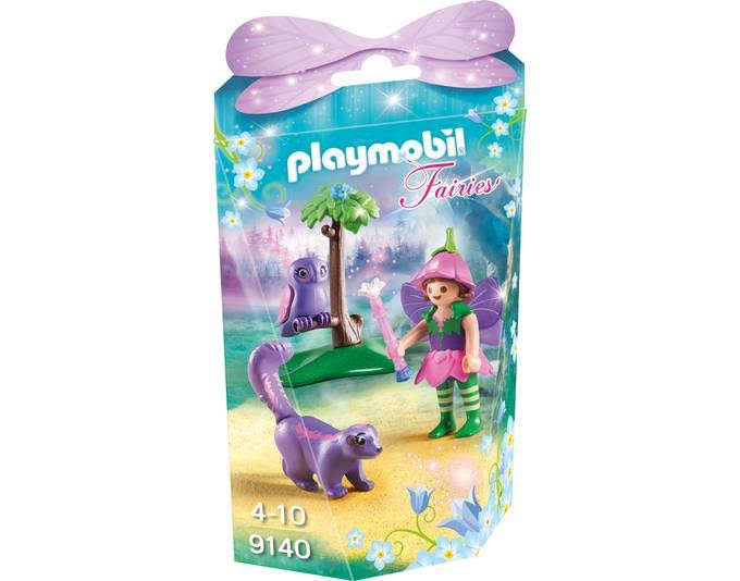 Playmobil Collectable Fairy Girl With Animal Friends