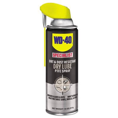 WD-40 Specialist Dirt and Dust Resistant Dry Lube PTFE Spray - 10oz