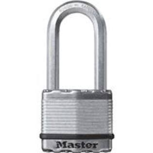 "Master Lock Stainless Steel Laminated Padlock - with 2"" Boron Shackle"