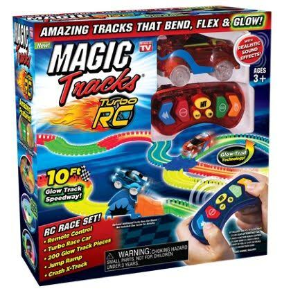 Magic Tracks RC Race Set as Seen on TV
