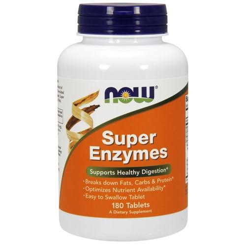 NOW Foods Super Enzymes - 180Tablets