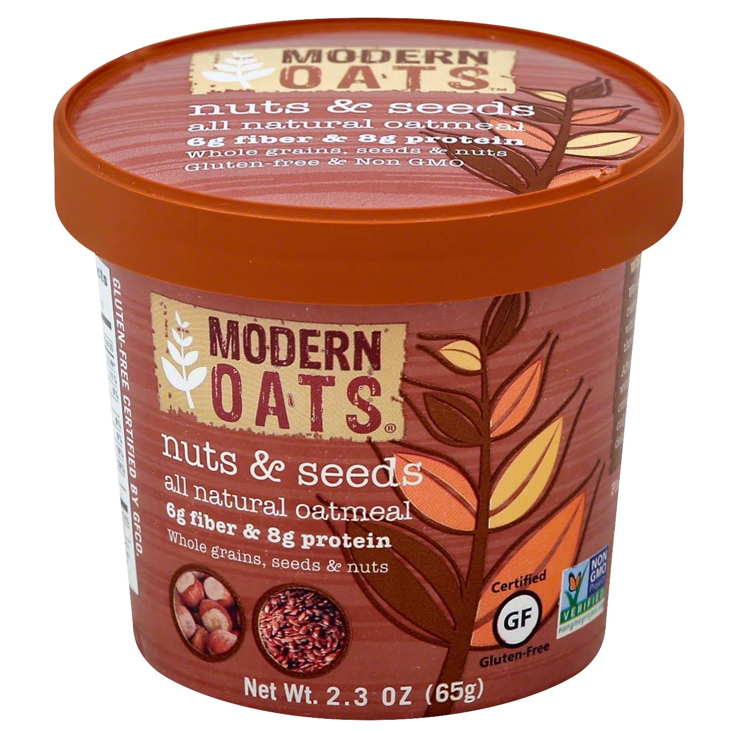 Modern Oats Nuts and Seeds All Natural Oatmeal - 2.3oz