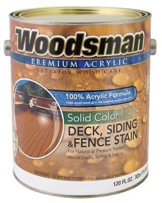 True Value Mfg Acrylic Deck Siding and Fence Stain - Cedar, 3.8L