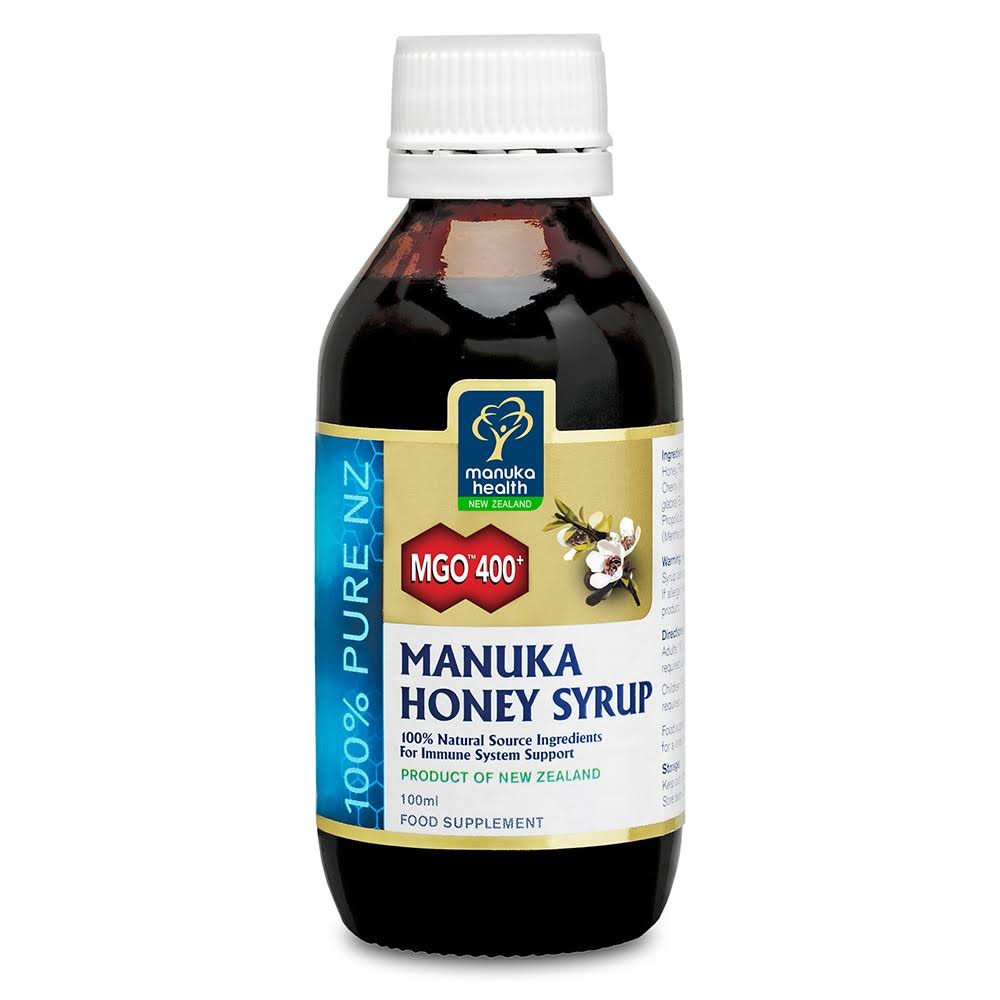 Manuka Health MGO400+ Manuka Honey Syrup - 100ml