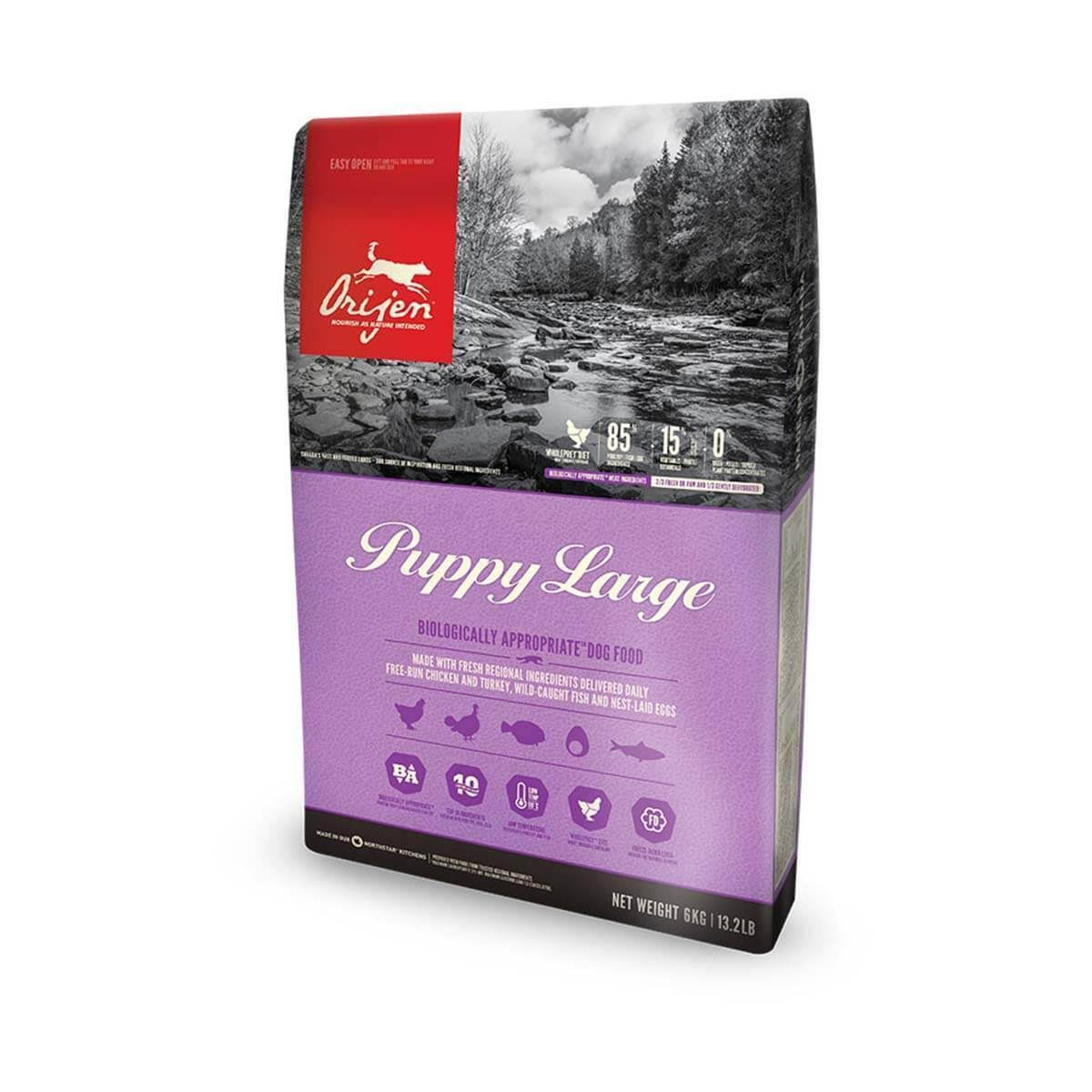 Orijen Puppy Large Dog Food - 6kg