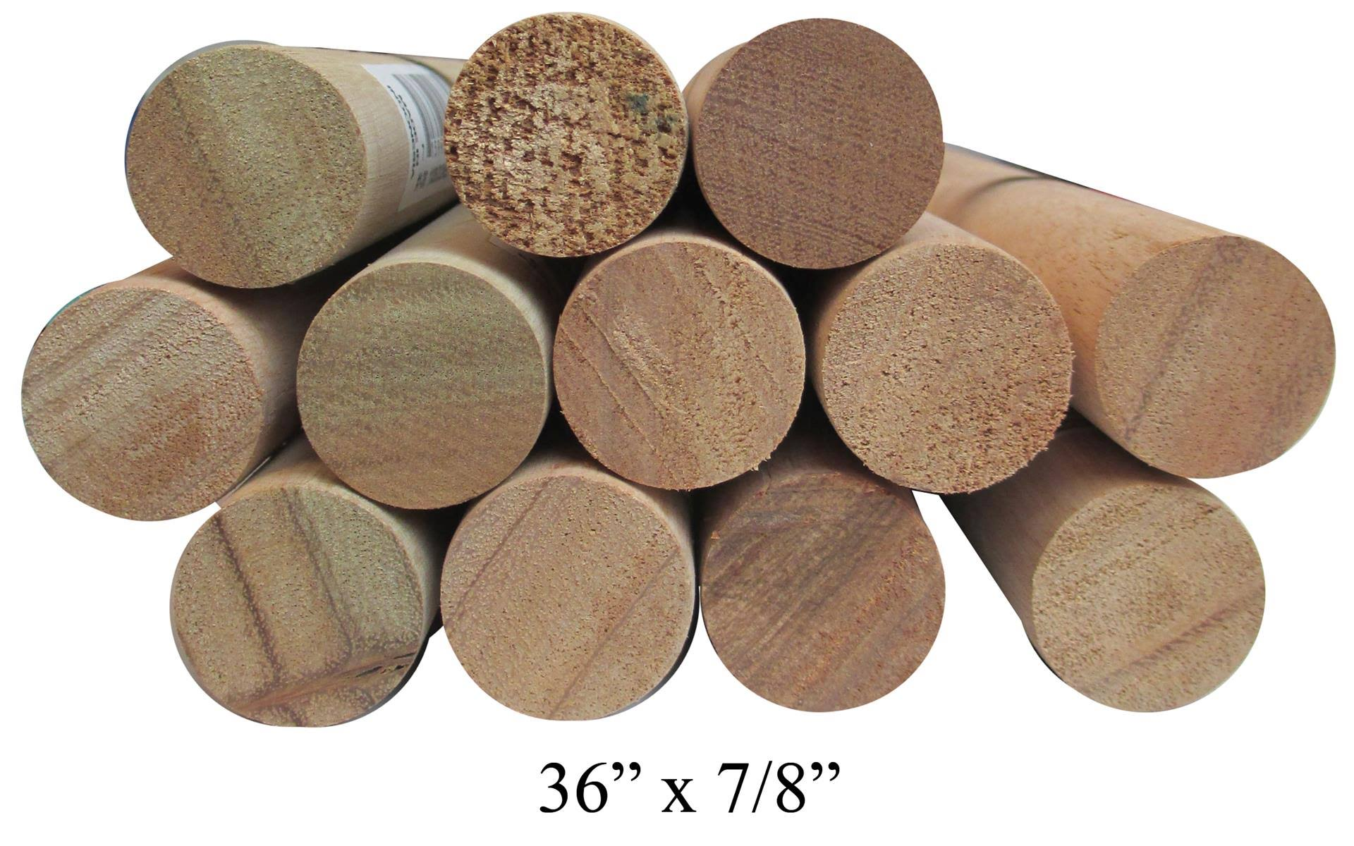Cindoco 36010142 Dowel Rod Hardwood, Brown
