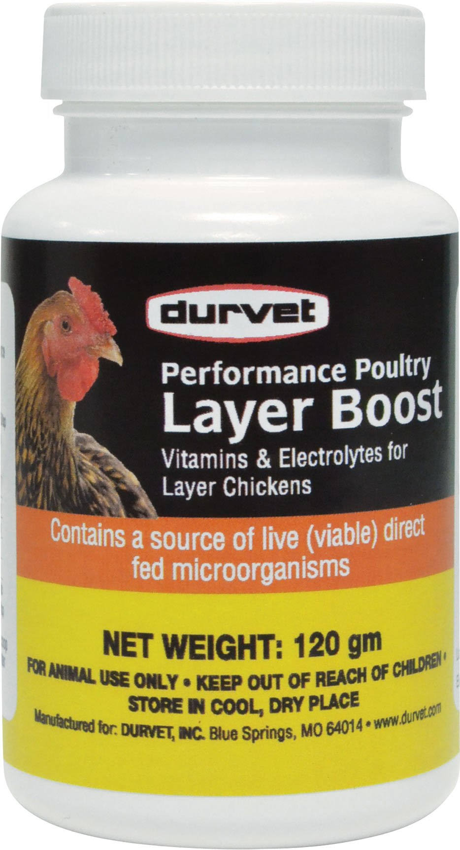 Durvet Layer Boost Vitamins & Electrolytes - 120g