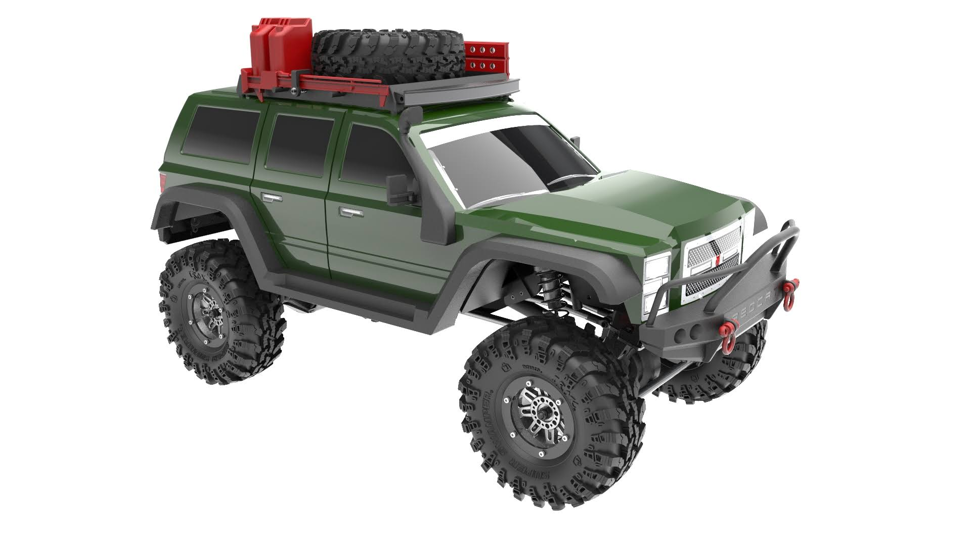 Redcat Racing 9588 Everest Gen7 Pro RC Vehicle Crawler Truck - Green