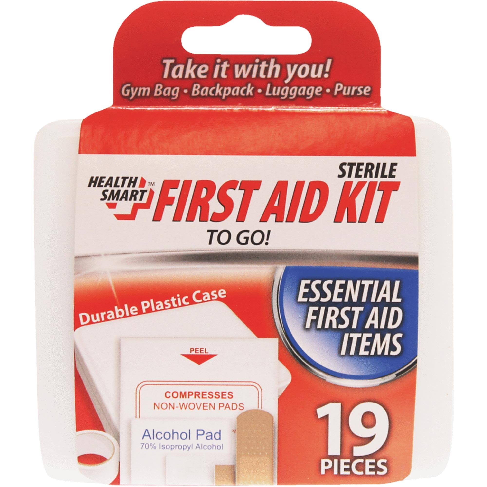 Health Smart First Aid Kit - 19pcs