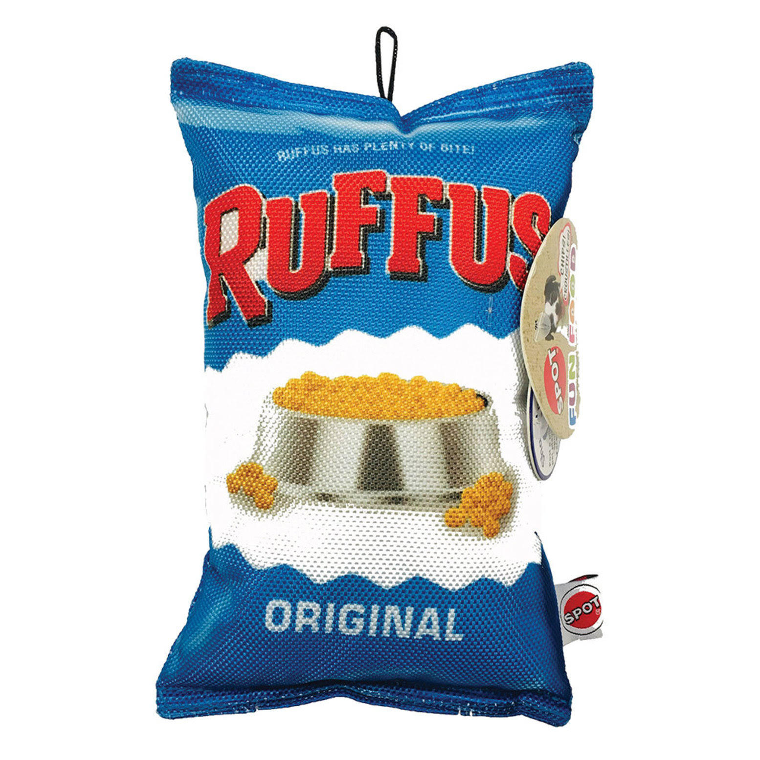 Ethical Pet Fun Food Ruffus Chips Dog Toy, 8-in