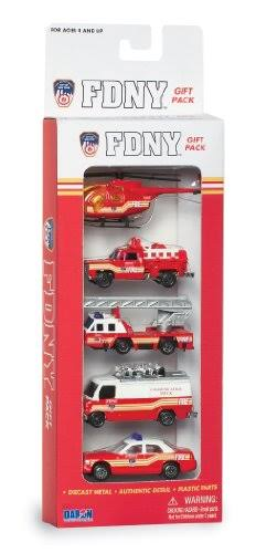 Daron Fdny Vehicle Gift Set - 5 Pieces