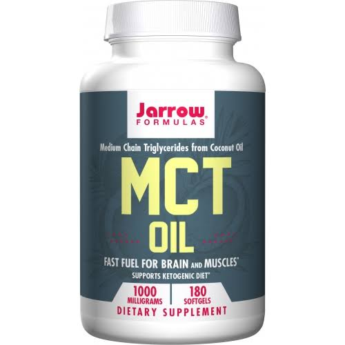 Jarrow Formulas MCT Oil Supplement - 1000mg, 180ct