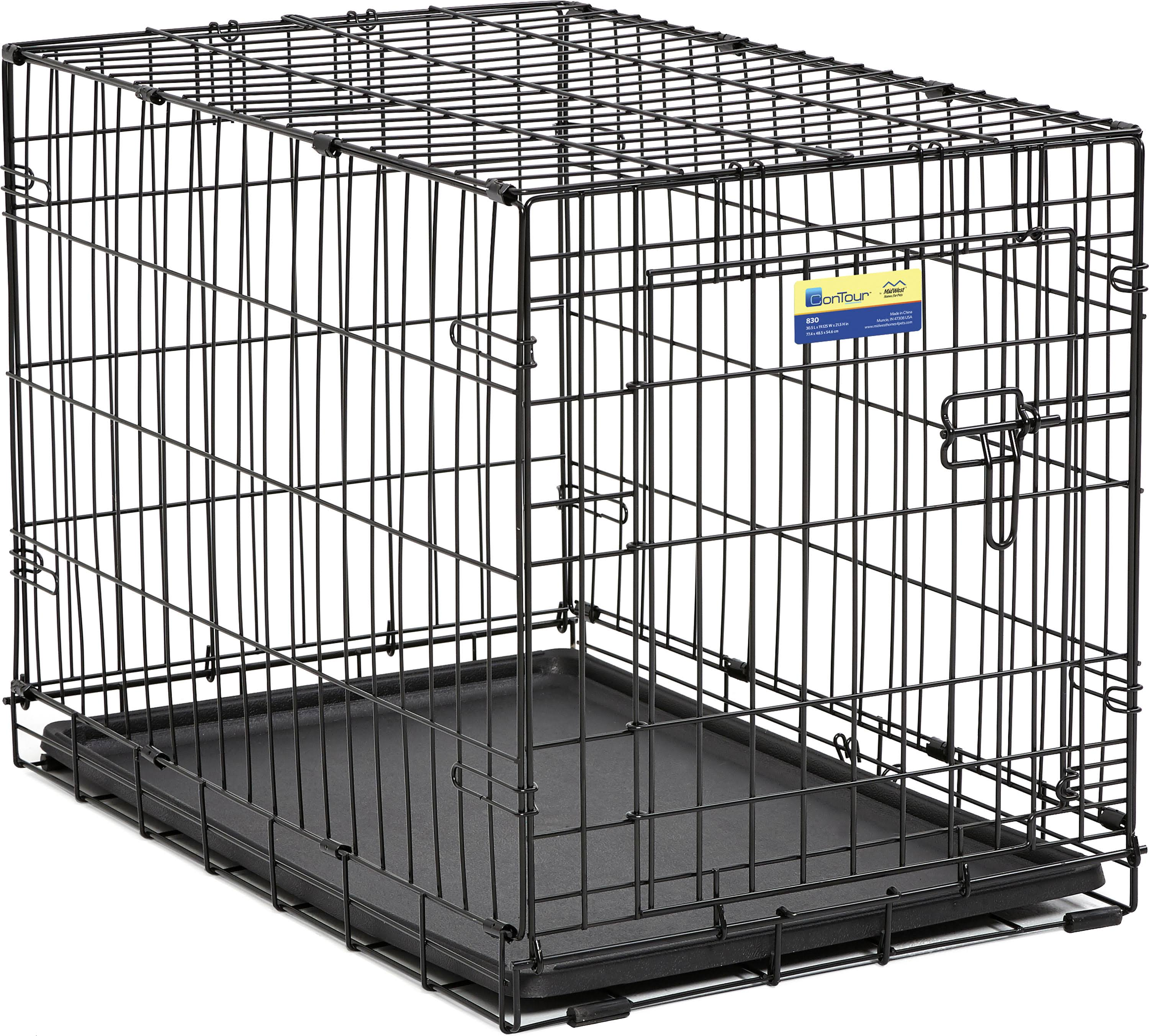 Contour Single Door Dog Crate