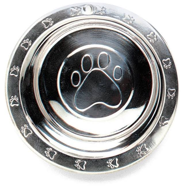Ethical Pet Stainless Steel Embossed Dog Bowl