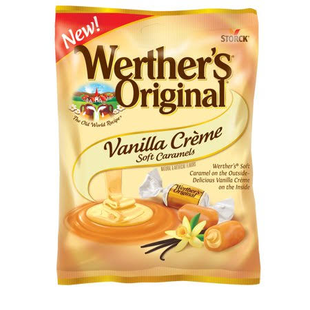Werther's Original Soft Caramels - Vanilla Cream, 4.51oz
