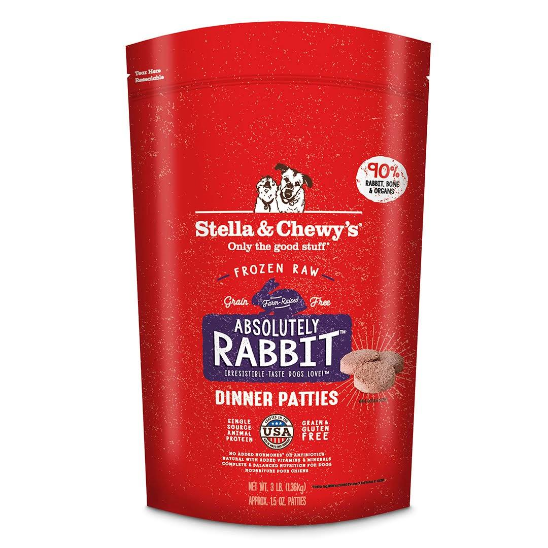 Stella & Chewy's Freeze Dried Dog Food - Rabbit, 2.72kg