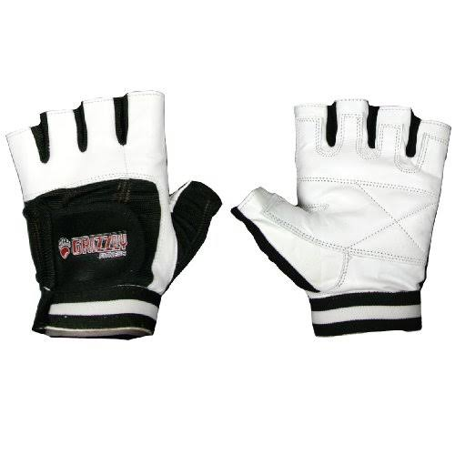 Grizzly Fitness GZ Paw Gloves White/Black SM