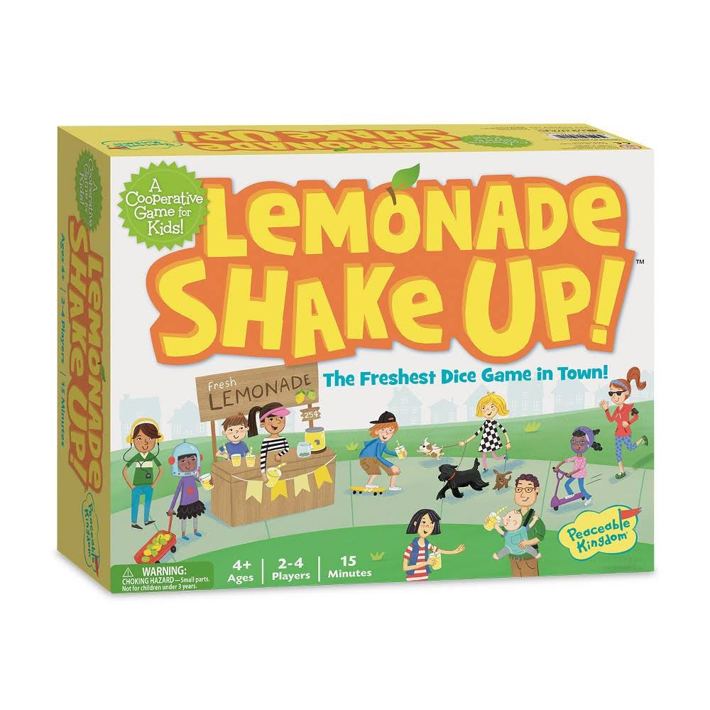 Peaceable Kingdom | Lemonade Shake Up! Game