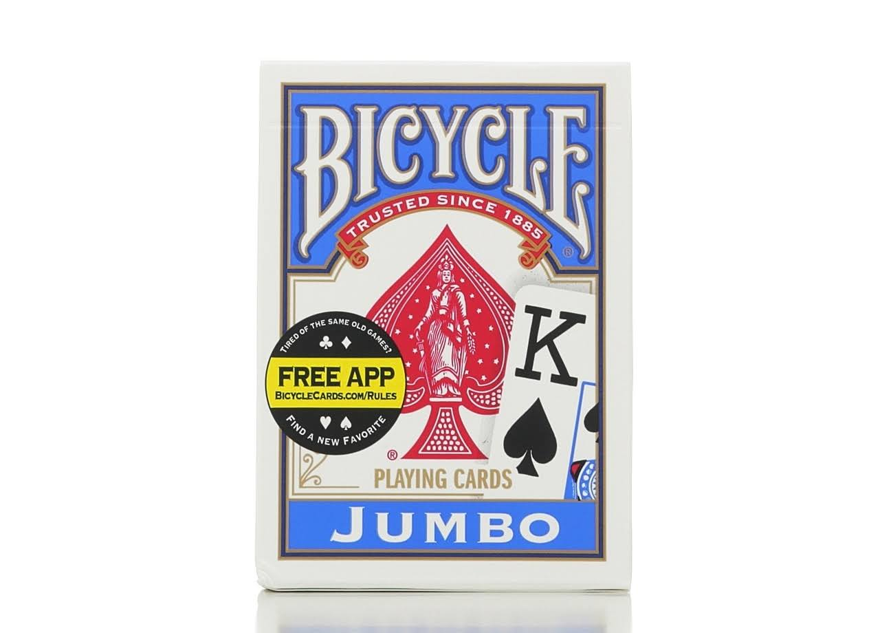 United States Bicycle Playing Cards - Jumbo Index